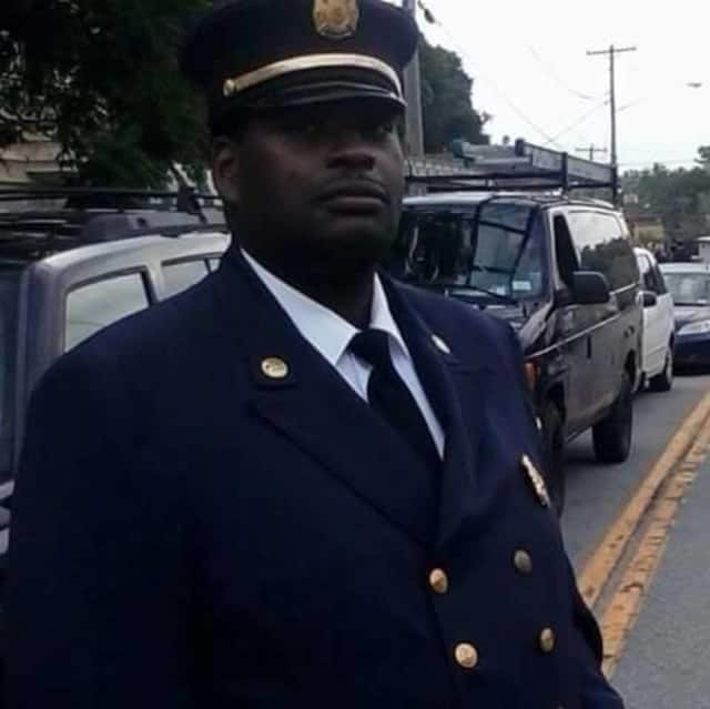 Nyack Firefighter Robert White stopped to help a South Nyack police officer who was involved in a serious car accident on July 18.