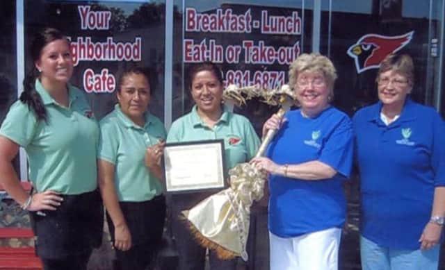 Pompton Lakes Woman's Club members.