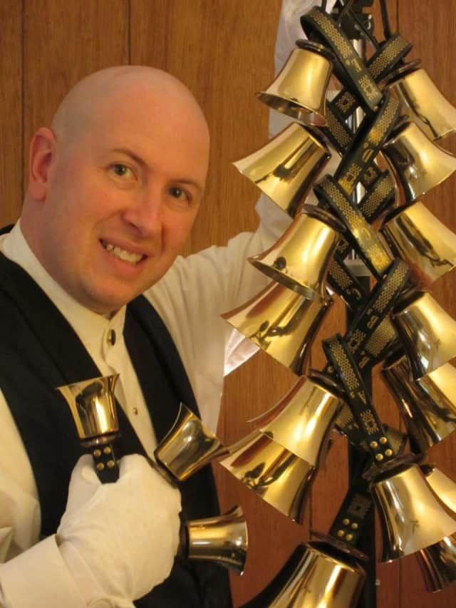 Brian A. Tricoli will be performing a free handbell concert at the Louis Bay 2nd Library Dec. 19.