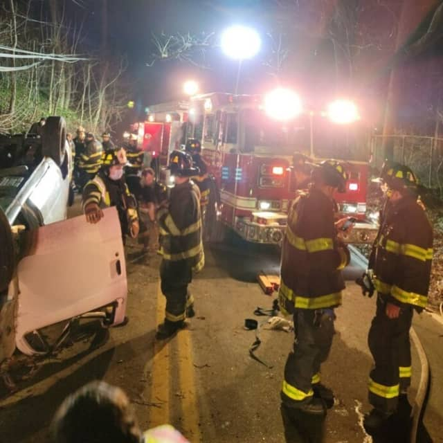 One was killed in a one-car crash in Northern Westchester