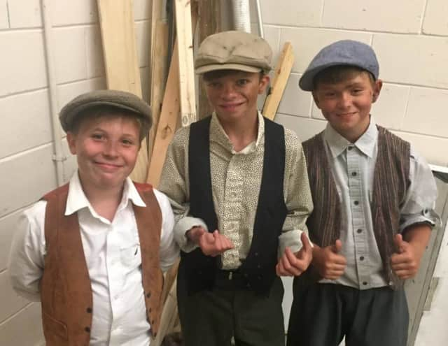 This Fagin's gang is trying to help more than themselves.
