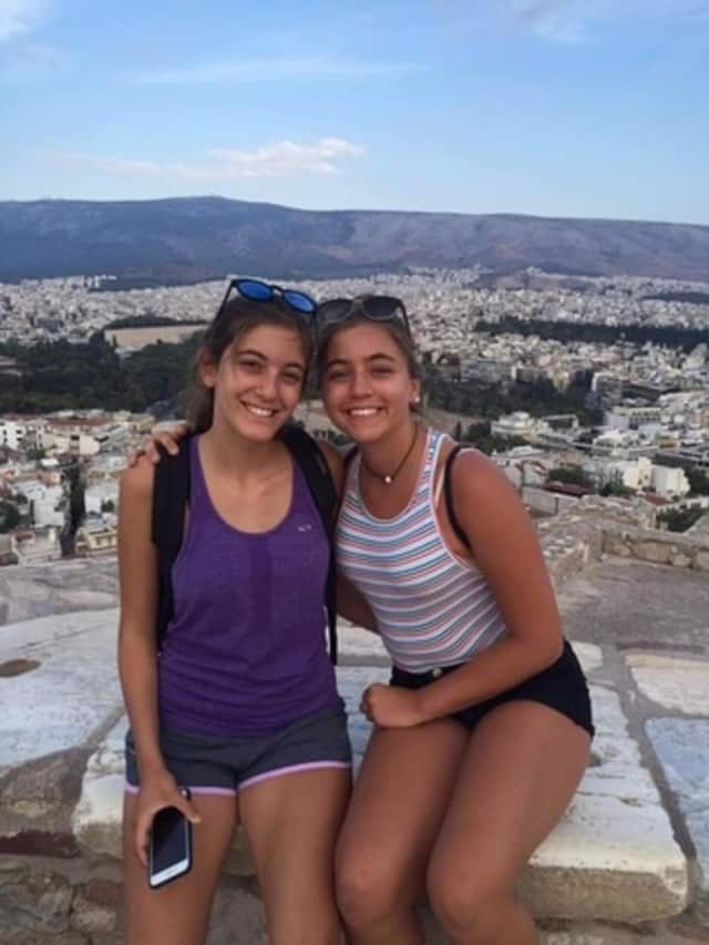 Sisters Kristina and Lauren Wasserman have launched a not-for-profit aimed helping an all-girls orphanage in Greece.