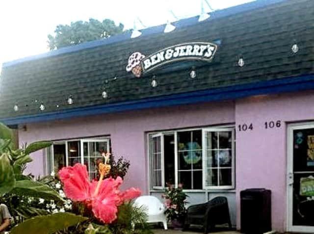 Ben & Jerry's on Franklin Avenue.