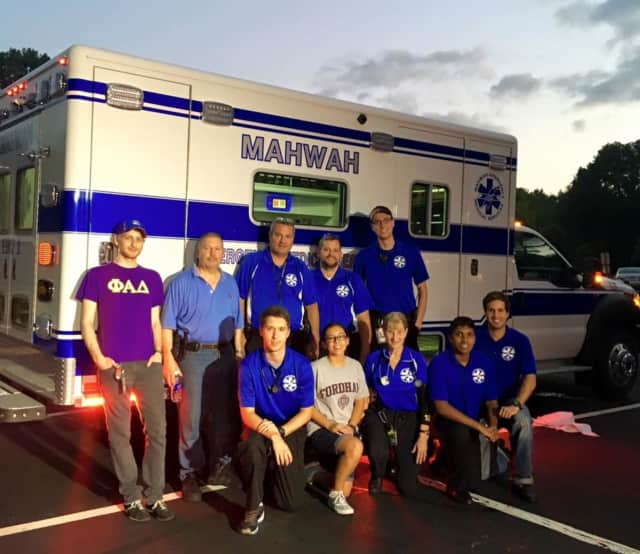 Mahwah EMS is super-soaking three of its rigs. There will be a celebration when the final of three new Horton ambulances arrive Oct. 1.