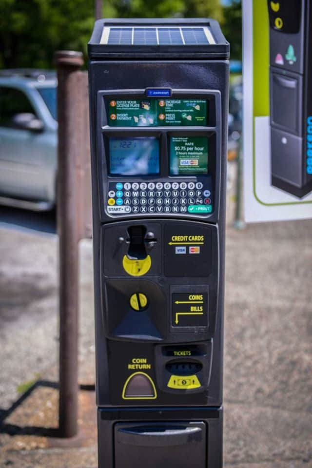 Drivers can now use their smartphones to pay for parking with the new parking meters in Yonkers.