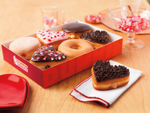 Jefferson Valley Mall will hold a Valentine's Day event for children hosted by Dunkin Donuts on Friday in the open court of the mall.