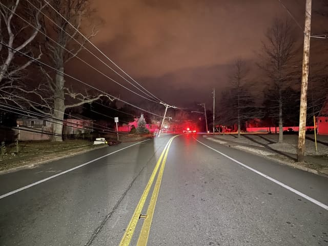 A 47-year-old drunken driver is facing multiple charges for a crash that downed a utility pole, started a brush fire and caused a power massive power outage over the weekend in Toms River, authorities said.
