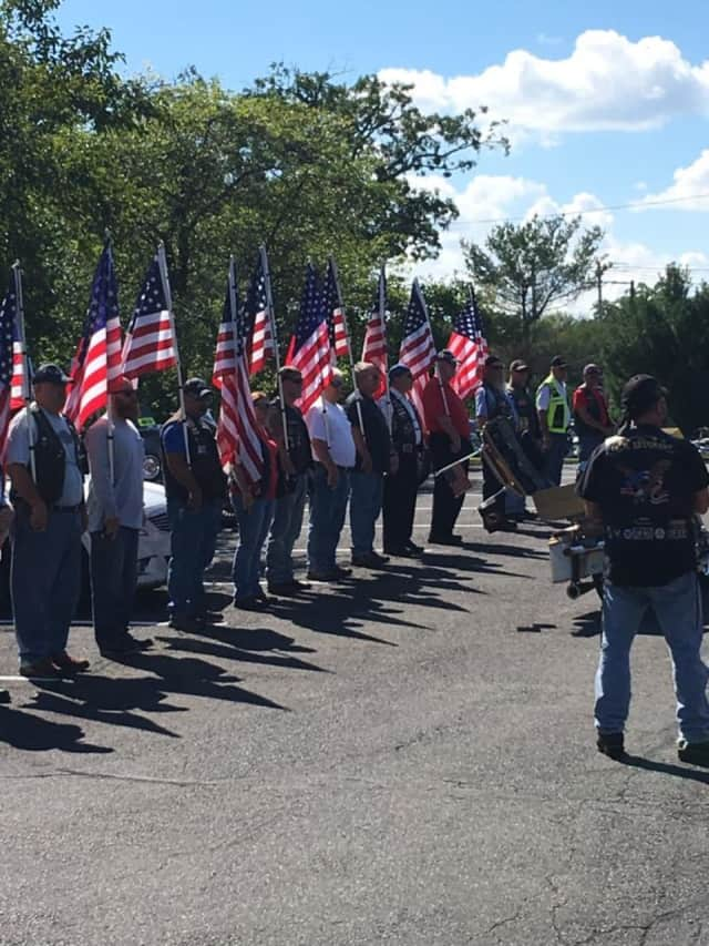 Ramapo police aided the Patriot Guard Riders as they returned the remains of Civil War Pvt. Jewett Williams to Maine.