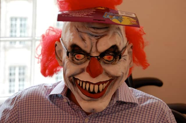 Somers Police are warning residents that making threats or scaring people about crazy clowns is not funny, or even safe.