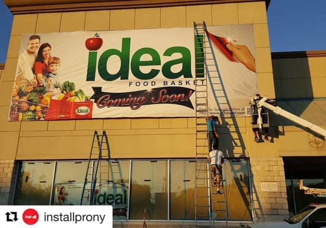 Ideal Food Basket is opening at the end of March.