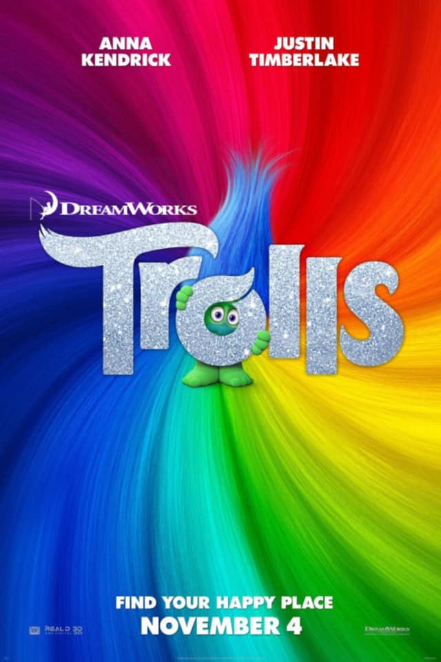"""Trolls"" is one of the movies Regal Cinemas is showing for just $1."