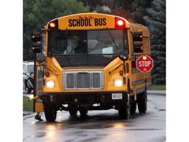 Irvington police are urging motorists to be careful around school buses.