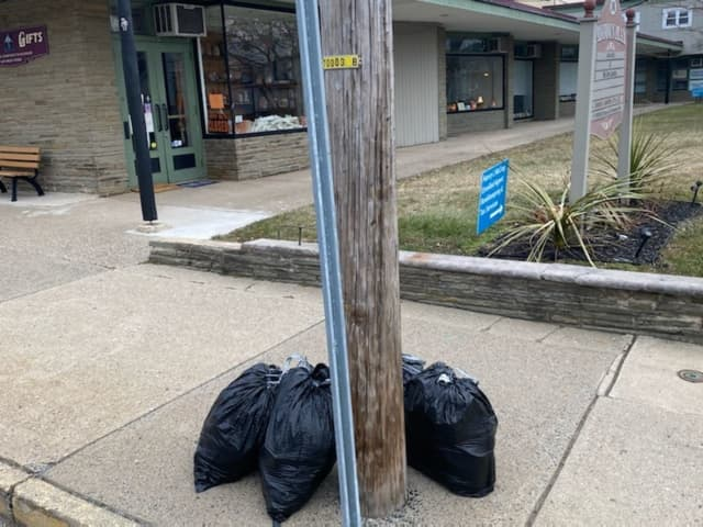 The public may never know the identity of the person who left several garbage bags full of junk on a Warren County sidewalk — but town officials used the trash to track the dumper down and call them out via social media.