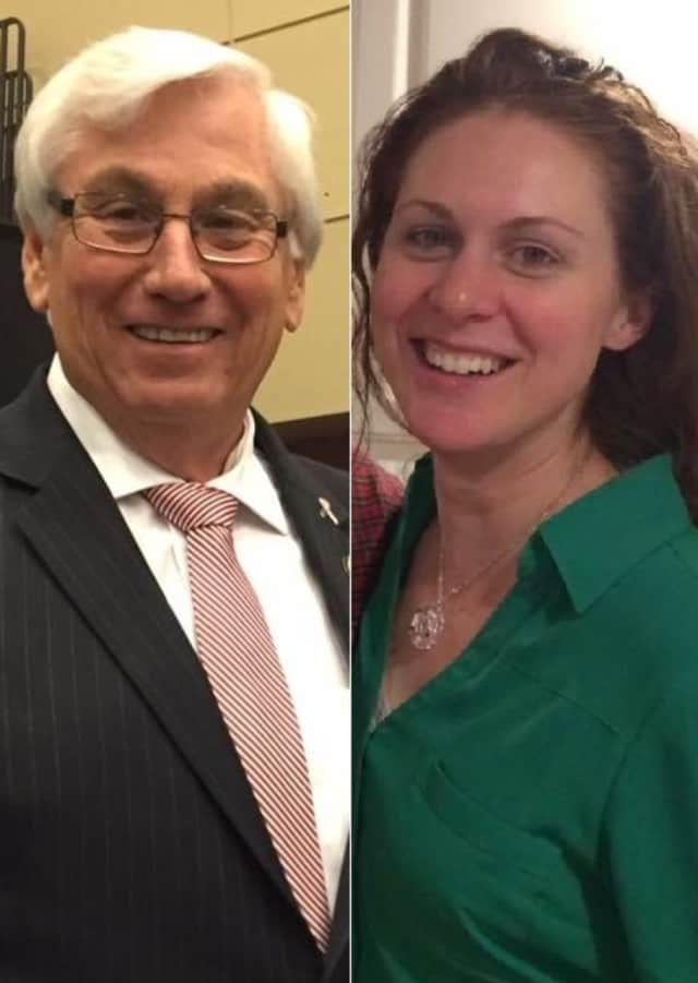 Mahwah Mayor William Laforet, Melanie Sue