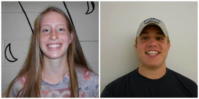 Alison Emery and Nick Clausen are the Pelham school district's Athletes of the Week.