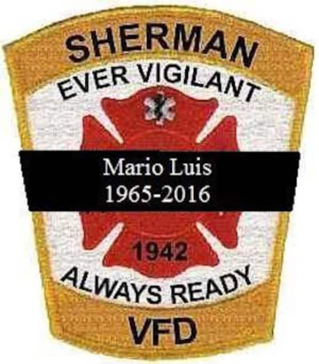 A memorial service will be held Sunday for Mario Luis, a Sherman volunteer firefighter who died in a motorcycle crash in New Fairfield.