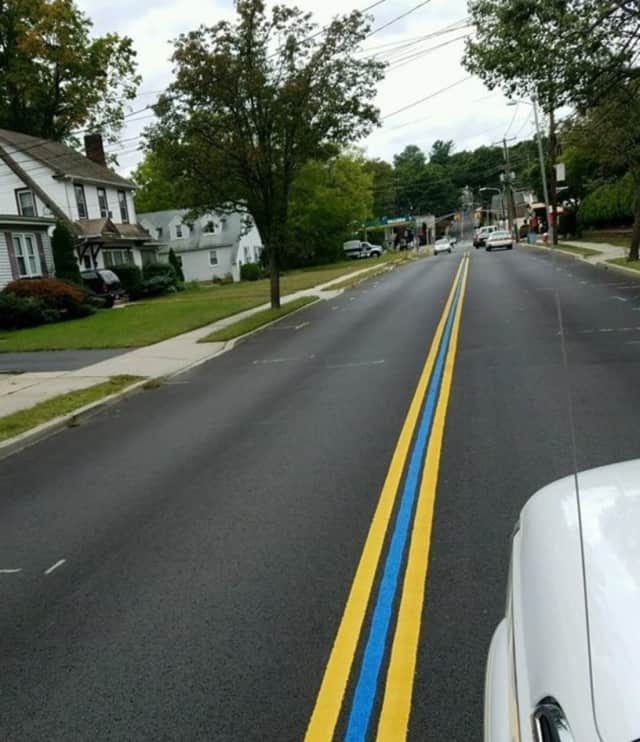 Emerson's thin blue line.