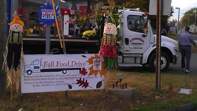 Four Corners Towing in Brookfield is to host the third annual Fill a Truck Food Drive on Oct. 29.