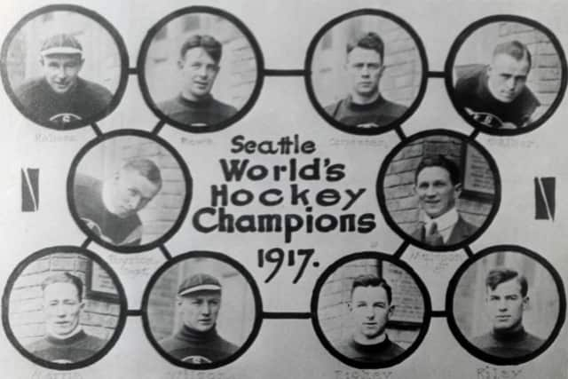 In 1917, the Seattle Metropolitans became the first American-based team to win the Stanley Cup by beating the defending champions, the Montreal Canadiens.