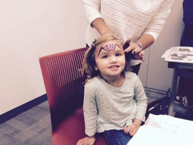 Pay a visit to the Richard E. Halperin Memorial Library Tuesday to have your face painted.