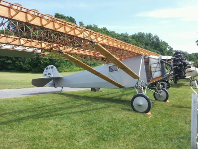 The Old Rhinebeck Museum has completed and flown of a reproduction of Charles Lindbergh's plane.