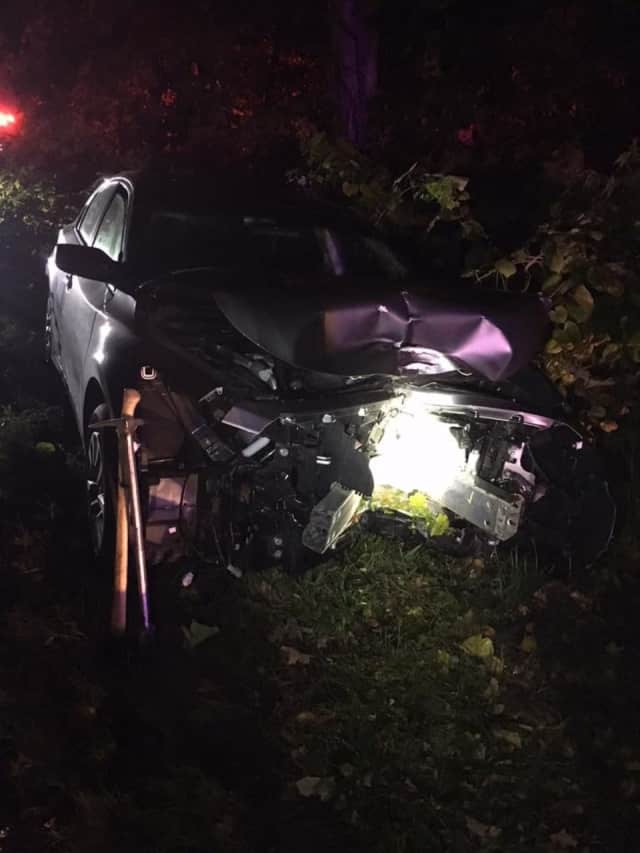Members of the Monroe Volunteer Fire Department responded to an automobile accident early Sunday.