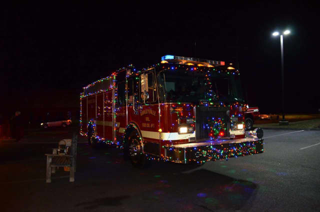 The Hawleyville Firehouse in Newtown will have its annual Holiday Light Show from Nov. 24 through Jan .8.