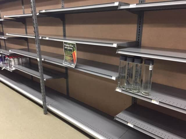 Residents have been concerned about empty shelves at Mrs. Green's.