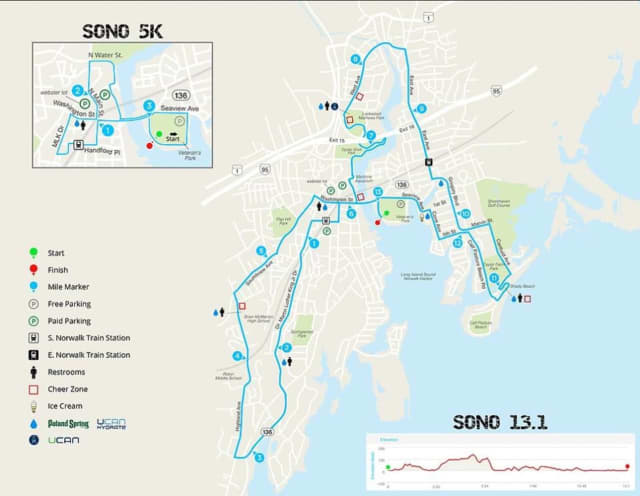 Norwalk police have posted a map of the course of the for SoNo Half Marathon and 5K, which is to take place Saturday, Oct. 15.