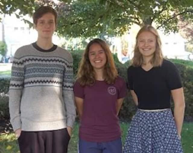 From left: Michael Ratzkin, Alana Montanez and Sandra Sublette