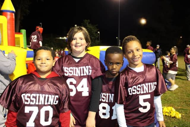Ossining youth football enjoyed a night under the lights Saturday.