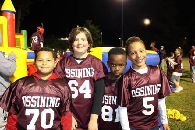 Ossining youth football enjoyed a night under the lights Saturday.