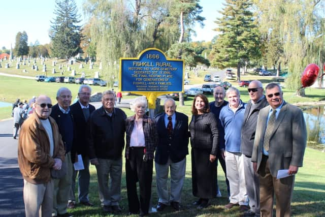 The Fishkill Cemetery celebrated its 150th anniversary on Saturday.