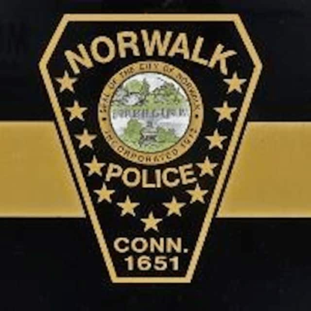 A suspect bit a Norwalk police officer.