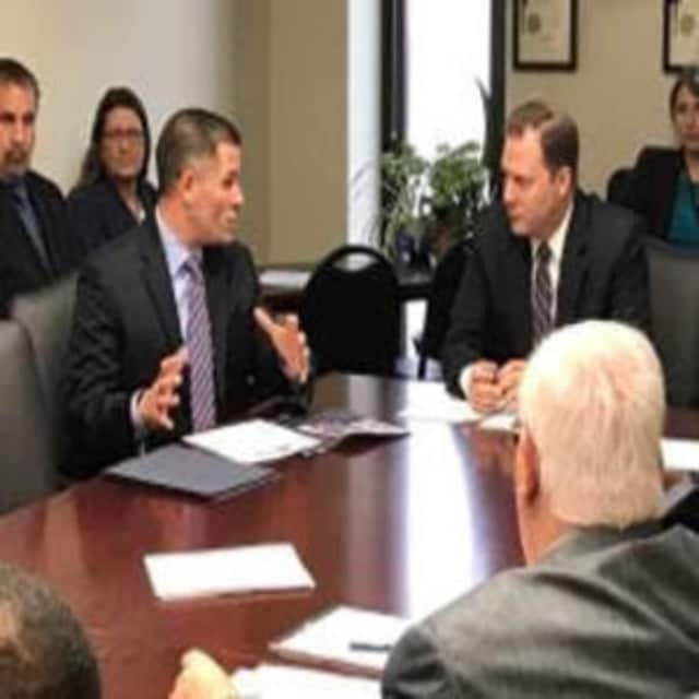 Dutchess County Executive Marcus Molinaro addressed the New York State Senate's Mental Health and Developmental Disabilities Committee Wednesday morning