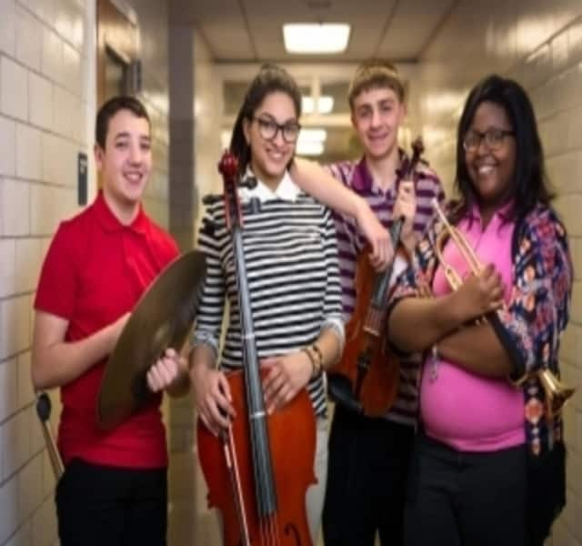 Schools throughout the Hudson Valley were honored for their music programs.