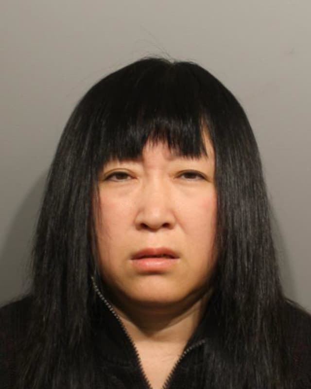 Yuhong Zeng was charged with prostitution in Wilton on Thursday night.