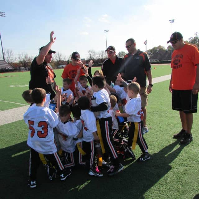 Hasbrouck Heights Junior Football signups are coming up.