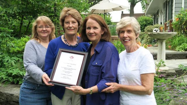 The Ridgewood Chamber of Commerce recently recognized the Conservancy for Ridgewood Public Lands.