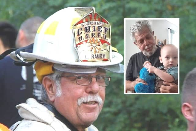 Husband, father, grandfather, great-grandfather, firefighters, mentor, instructor, friend, colleague: R.I.P., Larry Rauch