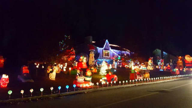 Martorana Christmas House in Wayne. Check out their Facebook page for updates.