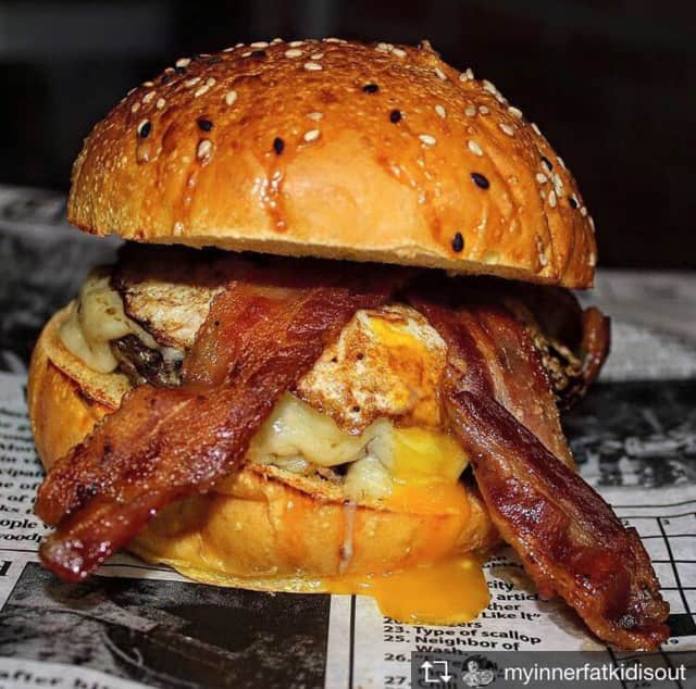 Check out this Mob Burger from @MyInnerFatKidIsOut.