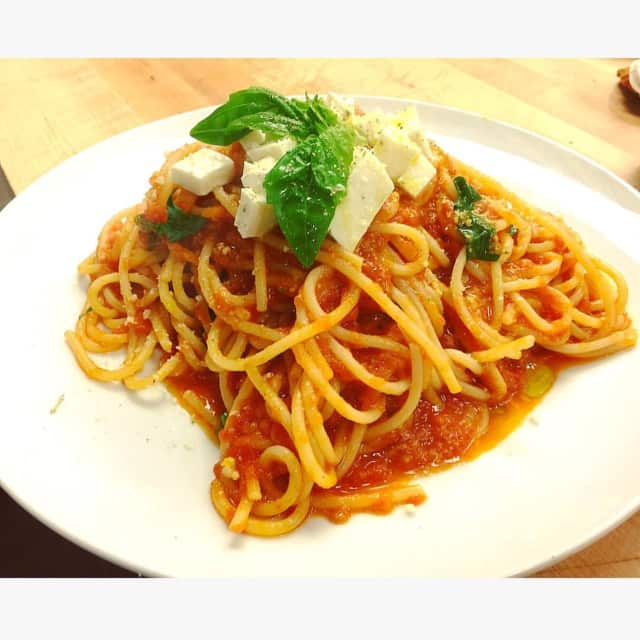 Organic pasta dishes are among the many organic entrees being piloted in Glen Rock schools through march.