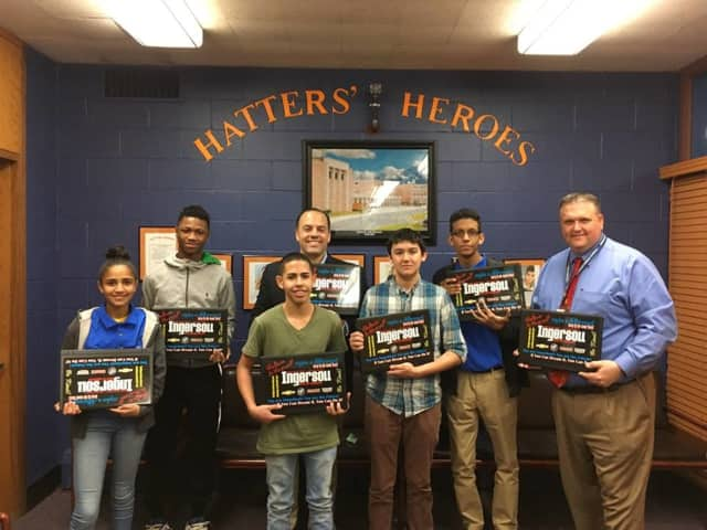 Ingersoll Auto Group Gets Danbury High Students Online With Laptop