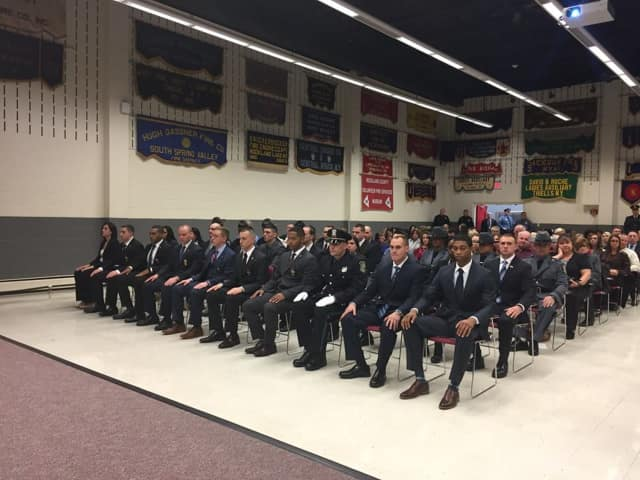 Twenty-six men and women graduated from the Rockland Police Academy, according to the county government's Facebook page.