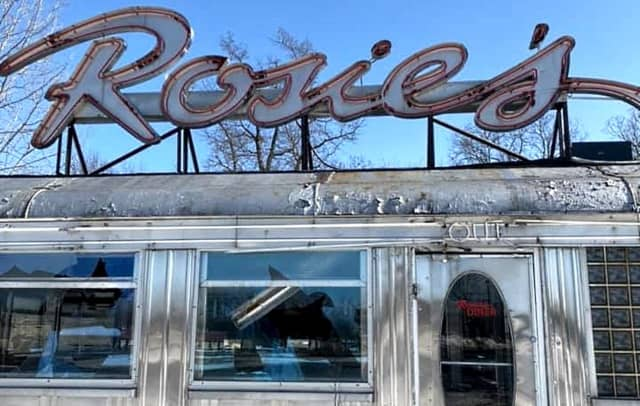 More than 700 miles from the Little Ferry Circle on Route 46, Rosie's today continues to deteriorate.