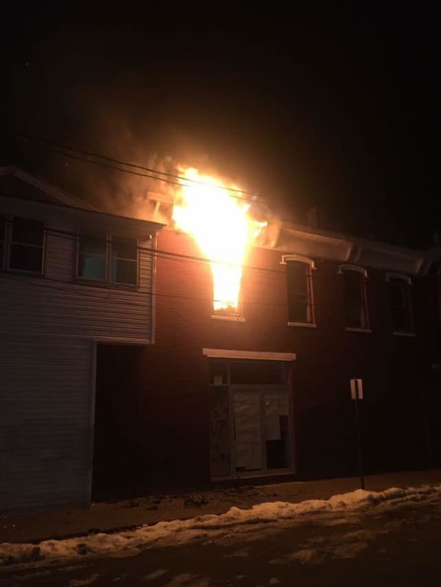Some 26 residents were left homeless following a fire at 1 Board St., in Haverstraw early Sunday.