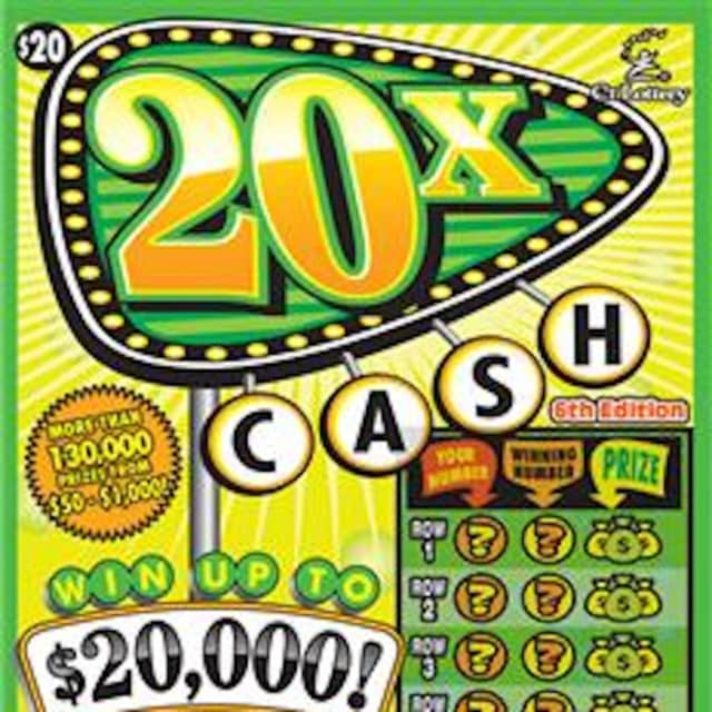 Two lucky lottery plays won $10,000 and $20,000 on scratch-off tickets.