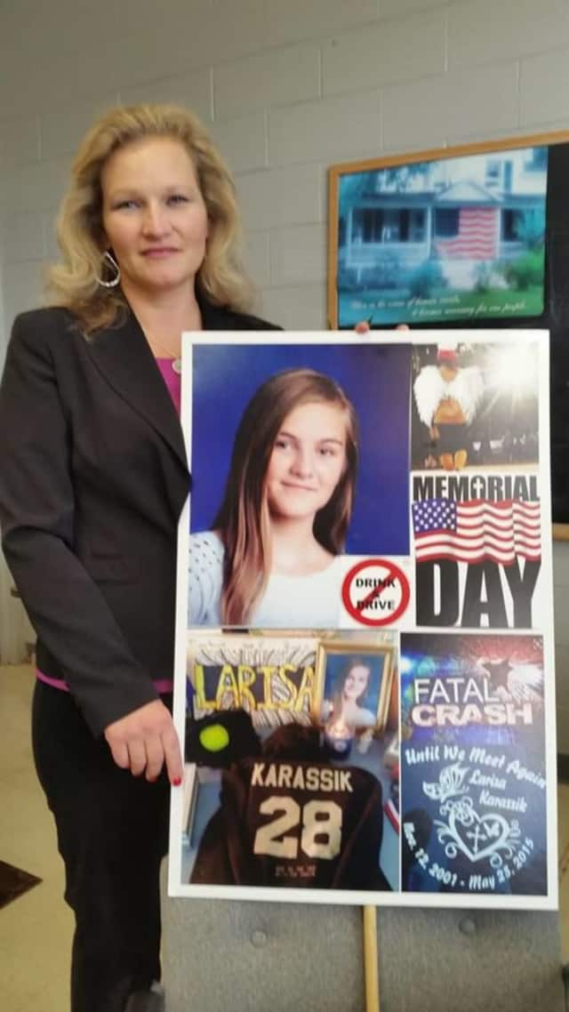 Anastasia Tasia Karassik is to take over as head of the Rockland County chapter of Mothers Against Drunk Driving, MADD.