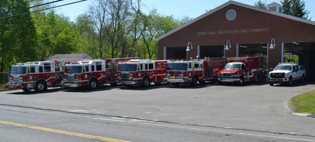 The Stony Hill Volunteer Fire Company in Bethel.